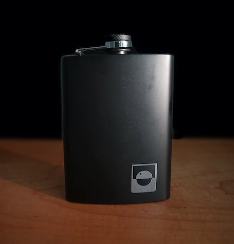 BOS AfterDark™ Hip Flask
