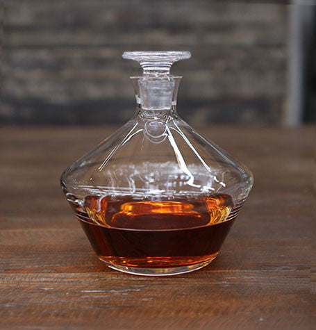 Crystal Whiskey Decanter -  -  - OriginalBOS - 1