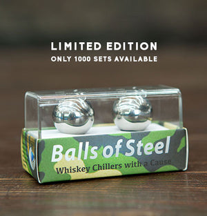 Balls of Steel - Military Edition - Whiskey & Sprit Chillers -  - OriginalBOS