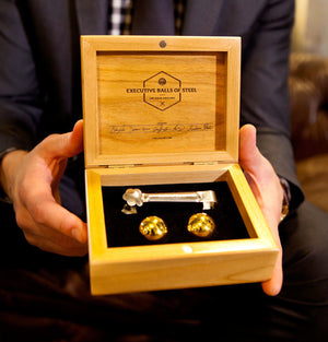 The Executive Set™ - 18K Gold Edition - Whiskey & Sprit Chillers -  - OriginalBOS - 6