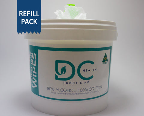 REFILL First Responder Disinfectant Wipes 1.5KG