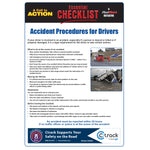 Accident Procedures - Essential Checklist
