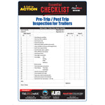 Pre-Trip / Post Trip Inspection for Trailers - Essential Checklist