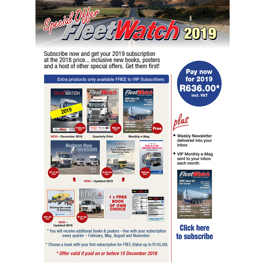 FleetWatch Subscription