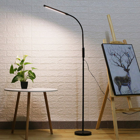 Remote Touch Control LED Floor Lamp Adjustable Standing Reading Light - Selectros