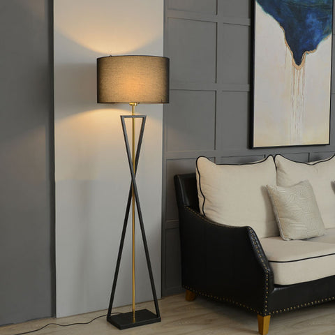Simple Contemporary Geometrical Floor Lamp Living Room Lighting - Selectros