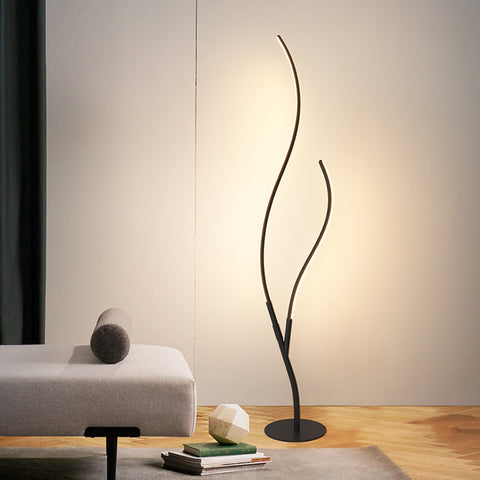Nordic Style Bedside Floor Lamp Standing Light For Bedroom Living Room - Selectros