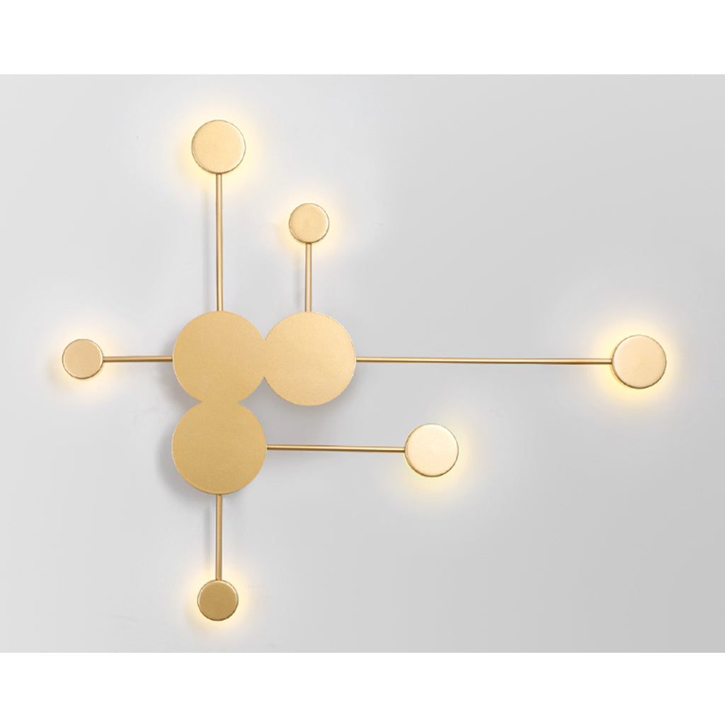 Nordic 6 Heads Wall Light Bedroom Bedside Wall Lamp Aisle Corridor - Selectros