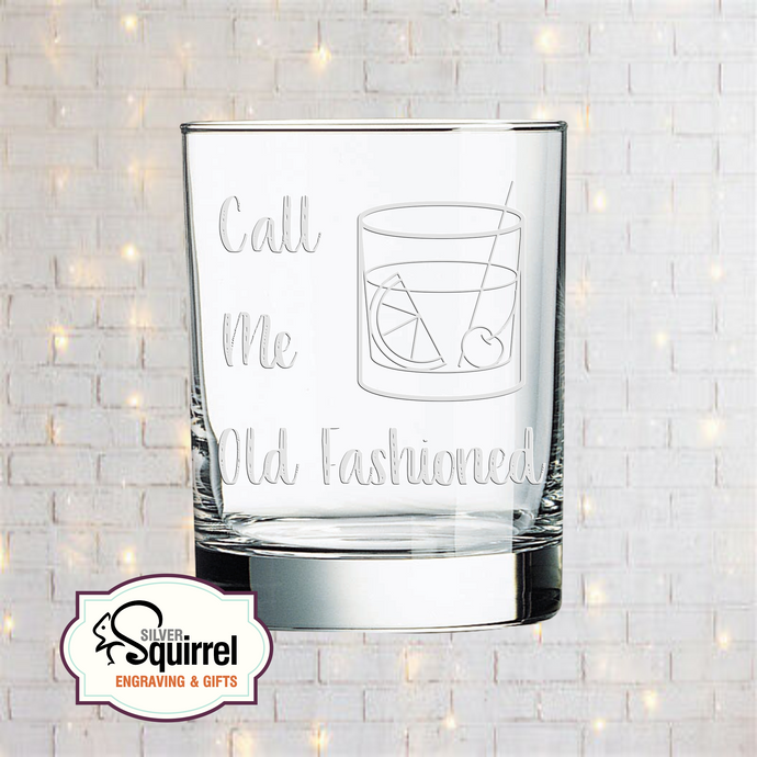 Double Old Fashioned Glass {Call Me Old Fashioned 1}