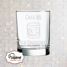 Load image into Gallery viewer, Double Old Fashioned Glass {Call Me Old Fashioned 2}