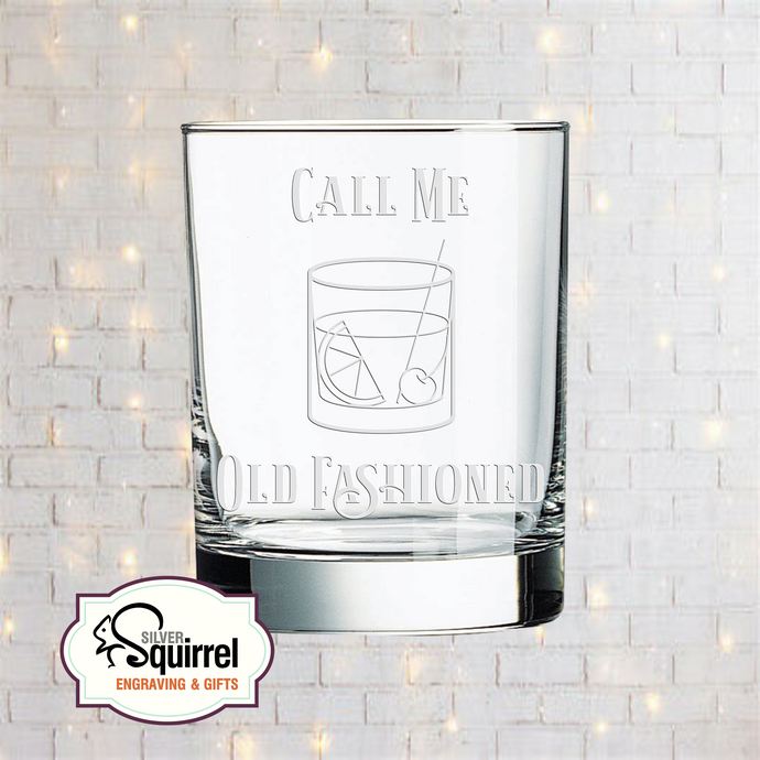 Double Old Fashioned Glass {Call Me Old Fashioned 2}