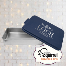 Load image into Gallery viewer, Aluminum Baking Pan {Mr & Mrs}