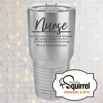 Nurse Definition Insulated Tumbler