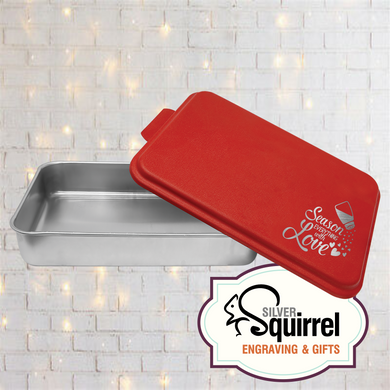 Aluminum Baking Pan {Season Everything With Love}