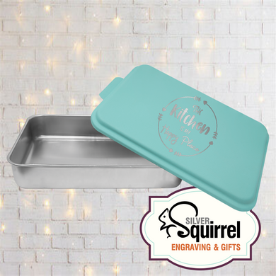 Aluminum Baking Pan {The kitchen is my happy place}
