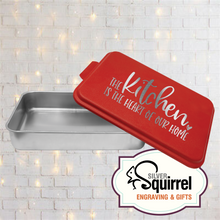 Load image into Gallery viewer, Aluminum Baking Pan {The Kitchen is the Heart}