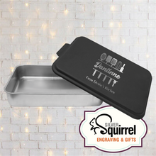 Load image into Gallery viewer, Aluminum Baking Pan {Personalized Kitchen Utensil}