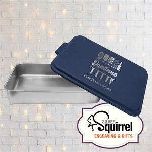 Aluminum Baking Pan {Personalized Kitchen Utensil}