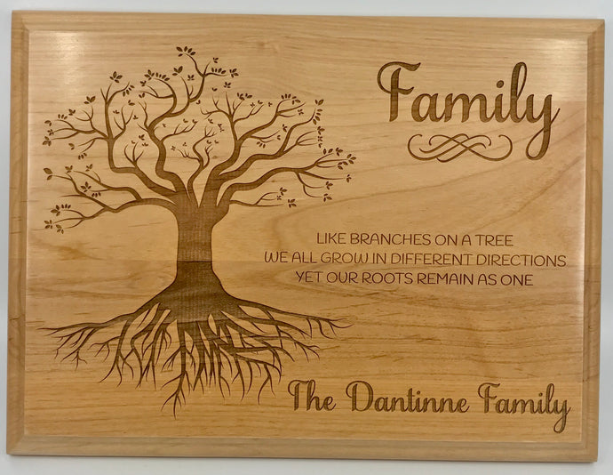 Family Branches Plaque