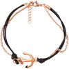 Armband aus Lederimitat in 2 Varianten - Luxurelle-Shop
