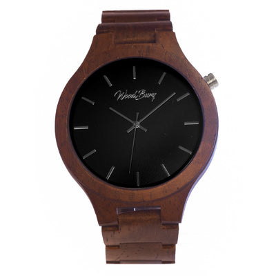 WoodBury Classic Watch - Black - Man - Luxurelle-Shop