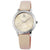 Pierrini Armbanduhr Lederband Analog Quarz Beige 192224000001