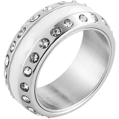 Damen-Ring aus Keramik - Luxurelle-Shop
