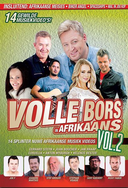 Vollebors In Afrikaans Vol.2 (DVD)_ VONK MUSIEK