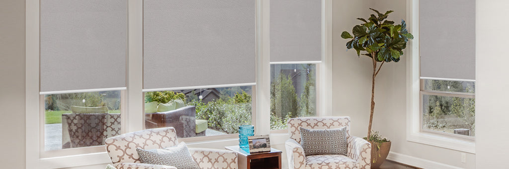 YOUR WINDOWS, YOUR WAY - Blackout Spring Roller Shades
