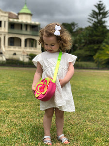 Cute Butterfly Kids Sling Bag