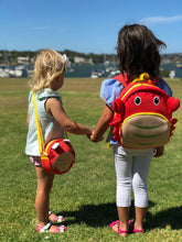 Load image into Gallery viewer, Coral Crab Kids Sling Bag