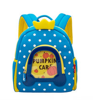 Load image into Gallery viewer, Pumpkin Car Kids Backpack
