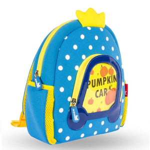 Pumpkin Car Kids Backpack