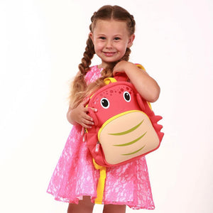 Coral Miss Crab Kids Backpack