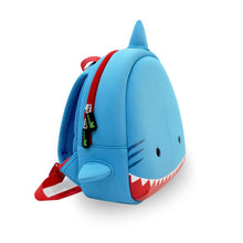 Load image into Gallery viewer, Shark Kids Backpack