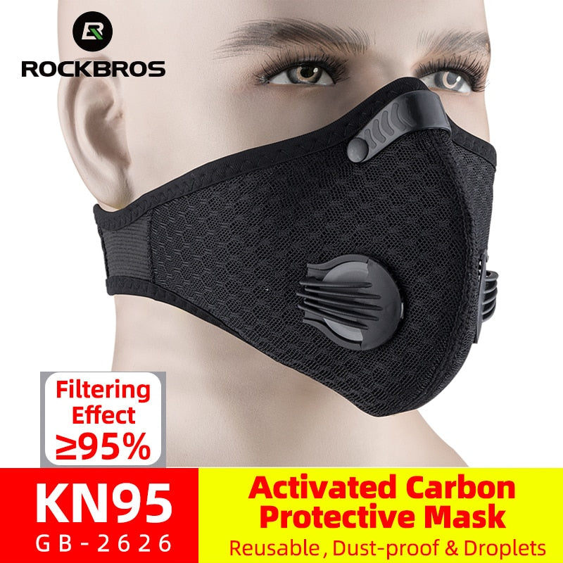 ROCKBROS Carbon Activated Mask