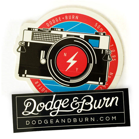 Dodge & Burn Sticker Set