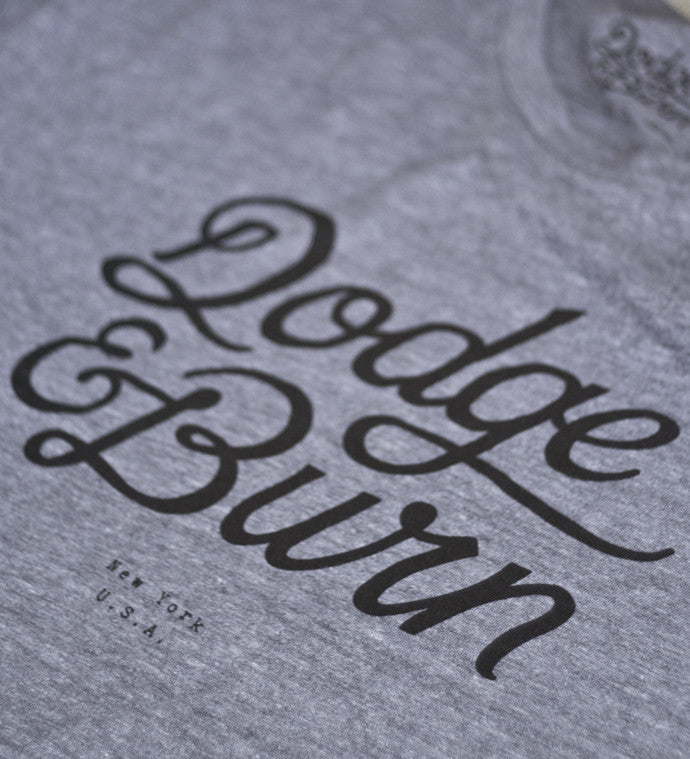 D&B Classic Heather Grey - Dodge & Burn