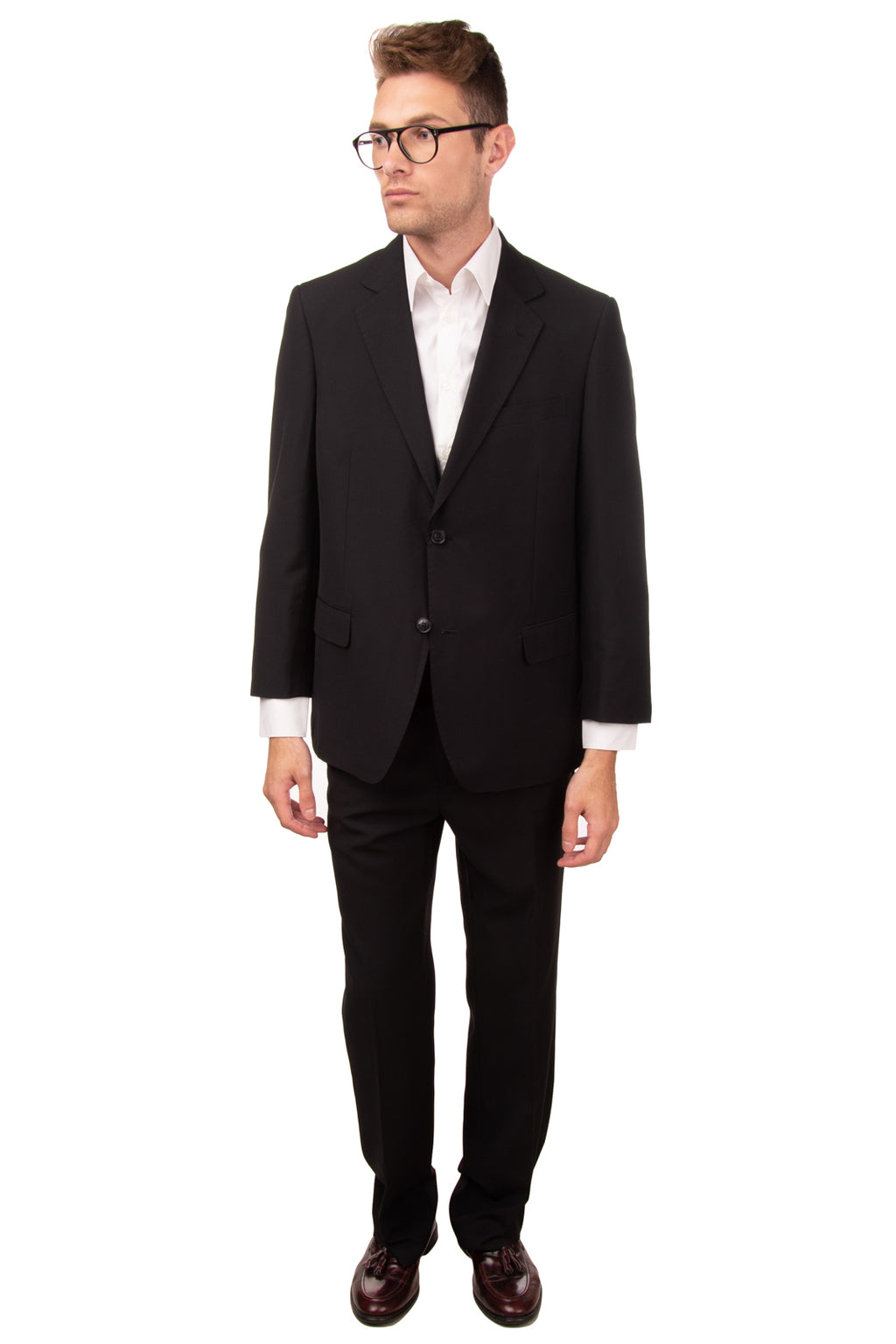 RRP€265 DOMENICO TAGLIENTE Single Breasted Suit Size 61 / 5XL Notch Lapel Collar