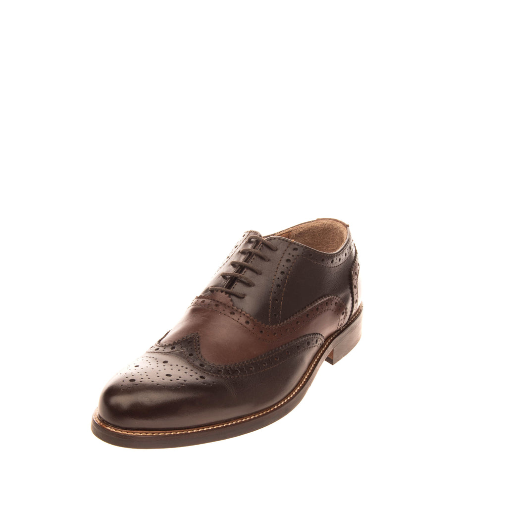 LEONARDO PRINCIPI Leather Oxford Shoes EU 45 UK 11 US 12 Brogue Made in Italy