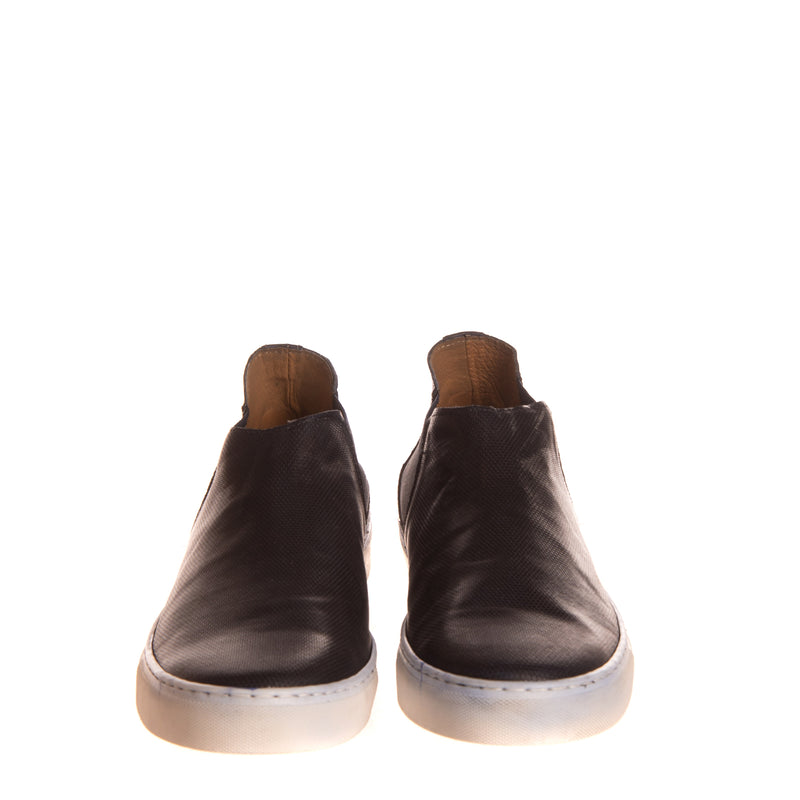 RRP €235 BRUNO VERRI Leather Sneaker Boots Size 45 UK 11 US 12 Made in Italy