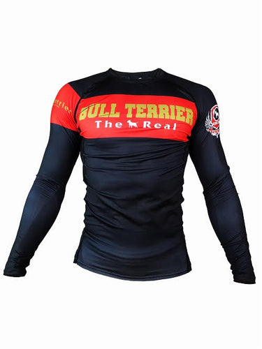 BULL TERRIER-THE RANGER- Rash Guard Long Sleeve Black
