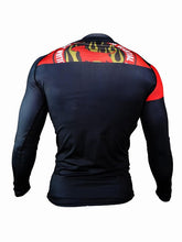 Load image into Gallery viewer, BULL TERRIER-THE RANGER- Rash Guard Long Sleeve Black