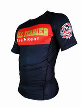 Load image into Gallery viewer, BULL TERRIER -THE RANGER- Rash Guard Short Sleeve Black