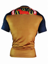 Load image into Gallery viewer, BULL TERRIER-THE RANGER-Rash Guard Short Sleeve Brown