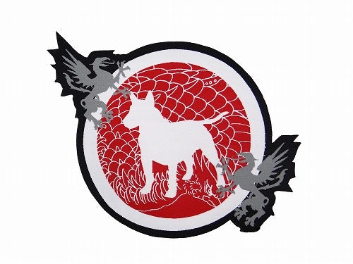 BULL TERRIER Patch -HOUOU-