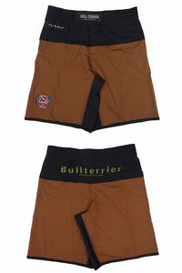 BULLTERRIER -THE RANGER- Fight Short Brown