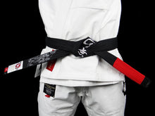 Load image into Gallery viewer, BULL TERRIER -MUSHIN- BJJ Belt Black