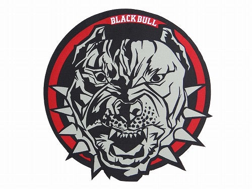 BLACK BULL Patch Circle