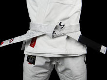 Load image into Gallery viewer, BULL TERRIER -MUSHIN- BJJ Belt White